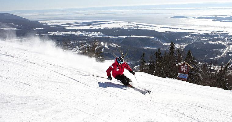 Mont Sainte Anne, Quebec, Canada