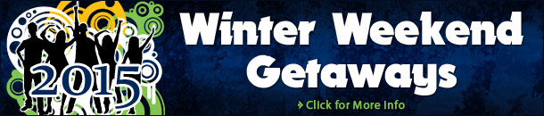 2015 Winter Weekend Getaways