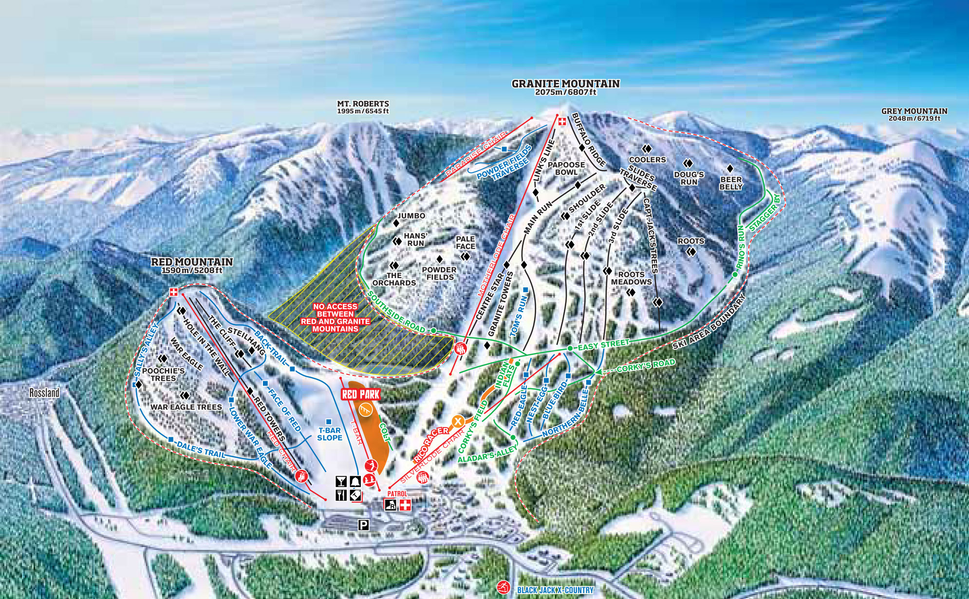 Alyeska Trail Map