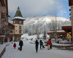 Sun Peaks BC-Lodging trek-Nancy Greene s Cahilty Hotel Suites