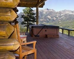 Big Sky MT-Lodging outing-Cowboy Heaven Cabins