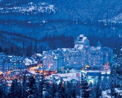 Whistler Blackcomb-Lodging holiday-Fairmont Chateau Whistler-Deluxe Slopeside View Room Max Occup 4