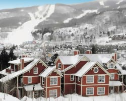 Mt Tremblant Quebec-Lodging outing-Les Eaux Condominiums