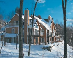 Mt Tremblant Quebec-Lodging outing-L Erabliere Townhomes