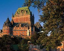 Mt Ste Anne Quebec-Lodging holiday-Fairmont Chateau Frontenac