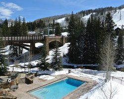 Vail CO-Lodging trek-Lion Square Lodge
