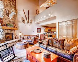 Steamboat CO-Lodging trek-Ptarmigan House Condominiums-3 Bedroom 3 Bath Condo Max Occup 8