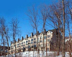 Mt Tremblant Quebec-Lodging trek-Le Rocher Soleil Condominiums