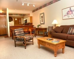 Steamboat CO-Lodging trek-Snowflower Condominiums-2 Bedroom Condominium Max Occup 6
