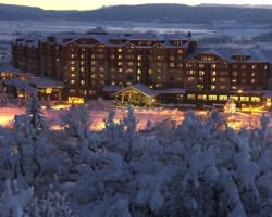 Steamboat CO-Lodging trek-Steamboat Grand Resort Hotel-Hotel Room - 2 Queens Max Occup 4