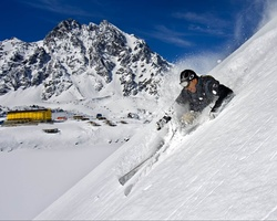 Ski Arpa Chile-Special Hot Deal expedition-Ultimate South America Skiing Riding Tour - Heli Ski Cat Ski plus Chile s top resorts -4 nights accommodation 5 ski days all transfers
