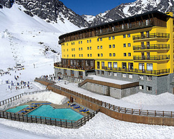 Portillo Chile-Special Hot Deal trek-17th Annual Chilean Wine Week at Portillo -7 Nights Accommodation 4 Meals Daily Wine Week Festivities Unlimited Ski Pass