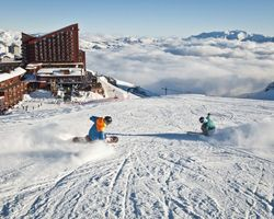 Valle Nevado Chile-Special Hot Deal holiday-Save 15 off all Ski Weeks at Valle Nevado when you book Delta flights -7-Night Accommodations Breakfast Dinner Daily with UNLIMITED Lift Pass