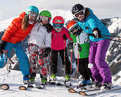 "Ski Vacation Package - ""Kids Ski Free"" with Four Mountain Sports equipment rentals!"