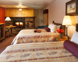Jackson Hole-Lodging travel-49er Inn amp Suites-Family Fireplace Room Max Occup 5
