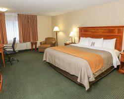 Beaver Creek CO-Lodging tour-Comfort Inn Vail Beaver Creek-Hotel Room - 2 Queens Max Occup 4