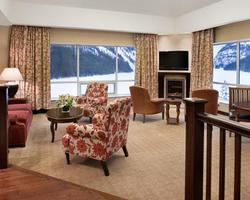 Banff Lake Louise Sunshine-Lodging excursion-Fairmont Chateau Lake Louise-Deluxe Lakeview Room Max Occup 4