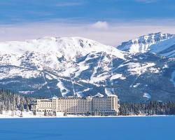 Banff Lake Louise Sunshine-Lodging expedition-Fairmont Chateau Lake Louise-Deluxe Lakeview Room Max Occup 4