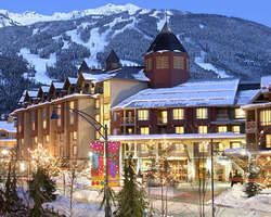 Whistler Blackcomb-Lodging trip-Delta Whistler Village Suites-1 Bedroom Suite Max Occup 4