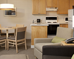 Whistler Blackcomb-Lodging excursion-Delta Whistler Village Suites-Guest Room Max Occup 2