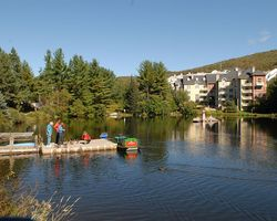 Mt Tremblant Quebec-Lodging travel-Ermitage du Lac