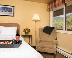 Vail CO-Lodging travel-Evergreen Lodge-Hotel Room - Mountain View Max Occup 4