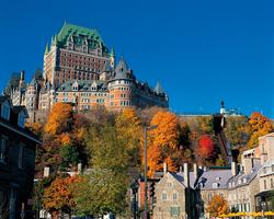 Mt Ste Anne Quebec-Lodging outing-Fairmont Chateau Frontenac