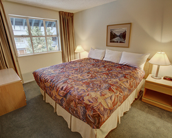 Whistler Blackcomb-Lodging outing-Glacier Lodge-1 Bedroom Condominium - Gold Max Occup 4