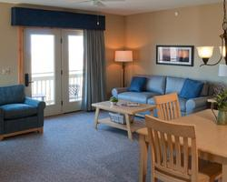Jay Peak VT-Lodging expedition-Timberline Condominiums-1 Bedroom 1 Bath Suite Max Occup 4