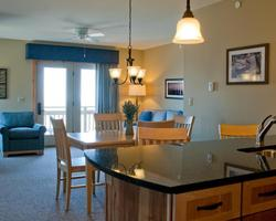 Jay Peak VT-Lodging outing-Timberline Condominiums-1 Bedroom 1 Bath Suite Max Occup 4