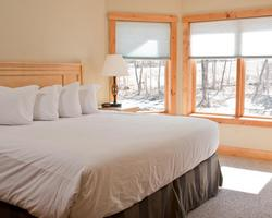 Jay Peak VT-Lodging travel-Timberline Condominiums-1 Bedroom 1 Bath Suite Max Occup 4