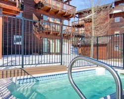Breckenridge CO-Lodging trek-Tyra II Condominiums-1 Bedroom Condominum Max Occup 4