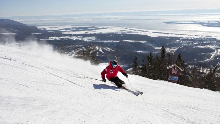 Ski Vacation Package - Mt Ste Anne, Quebec