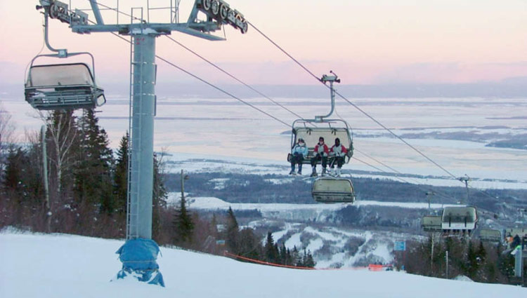 Ski Vacation Package - Mt Ste Anne, Quebec
